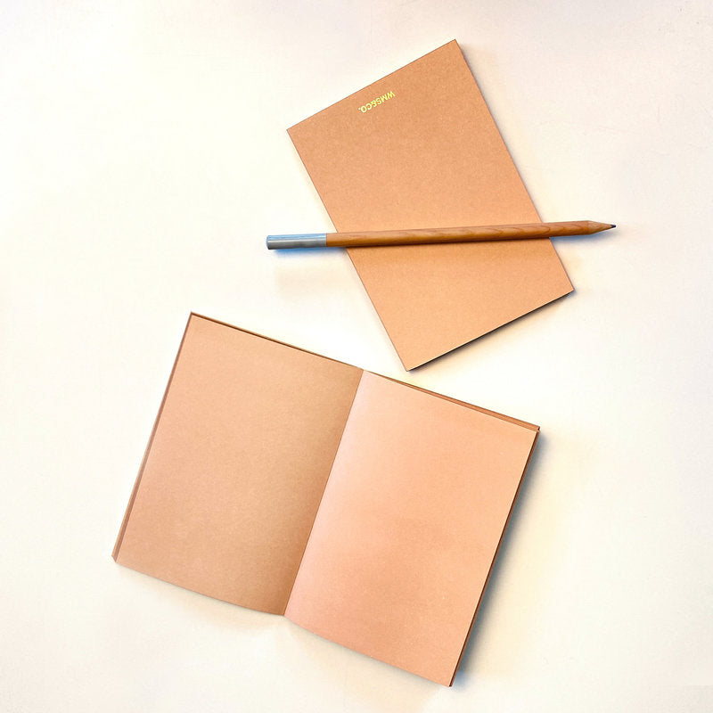 Blush Jotters with Gilded edge (set of 2)