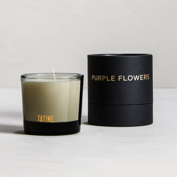 Dark, Wild, + Deep / PURPLE FLOWERS VOTIVE