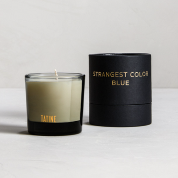 Dark, Wild, + Deep / STRANGEST COLOR BLUE VOTIVE