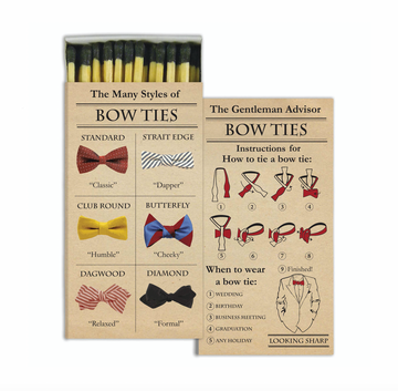 MATCHES - BOWTIES