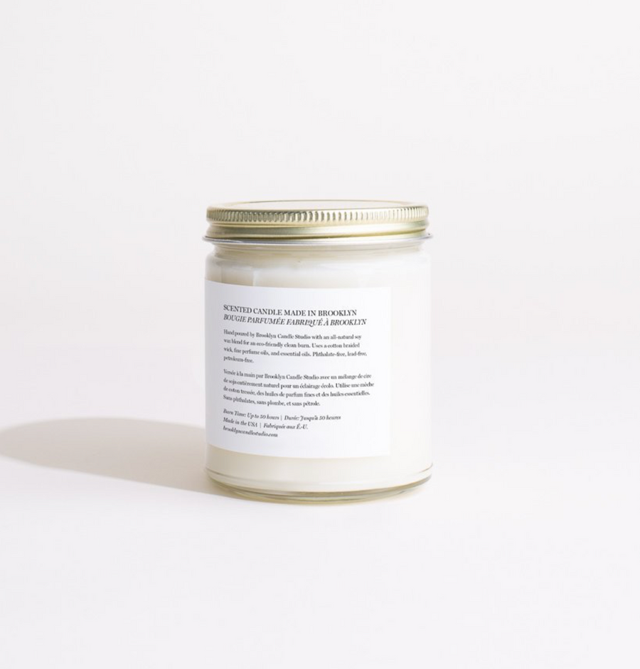 Minimalist Candle / Sweet Fig