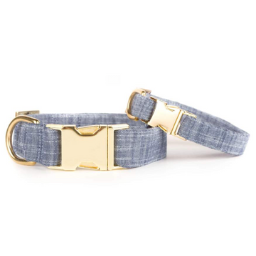 Foggy Doggy Chambray Collar