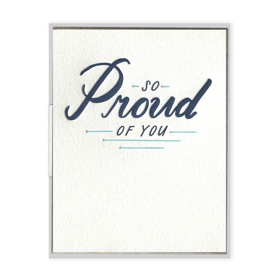 SO PROUD CARD
