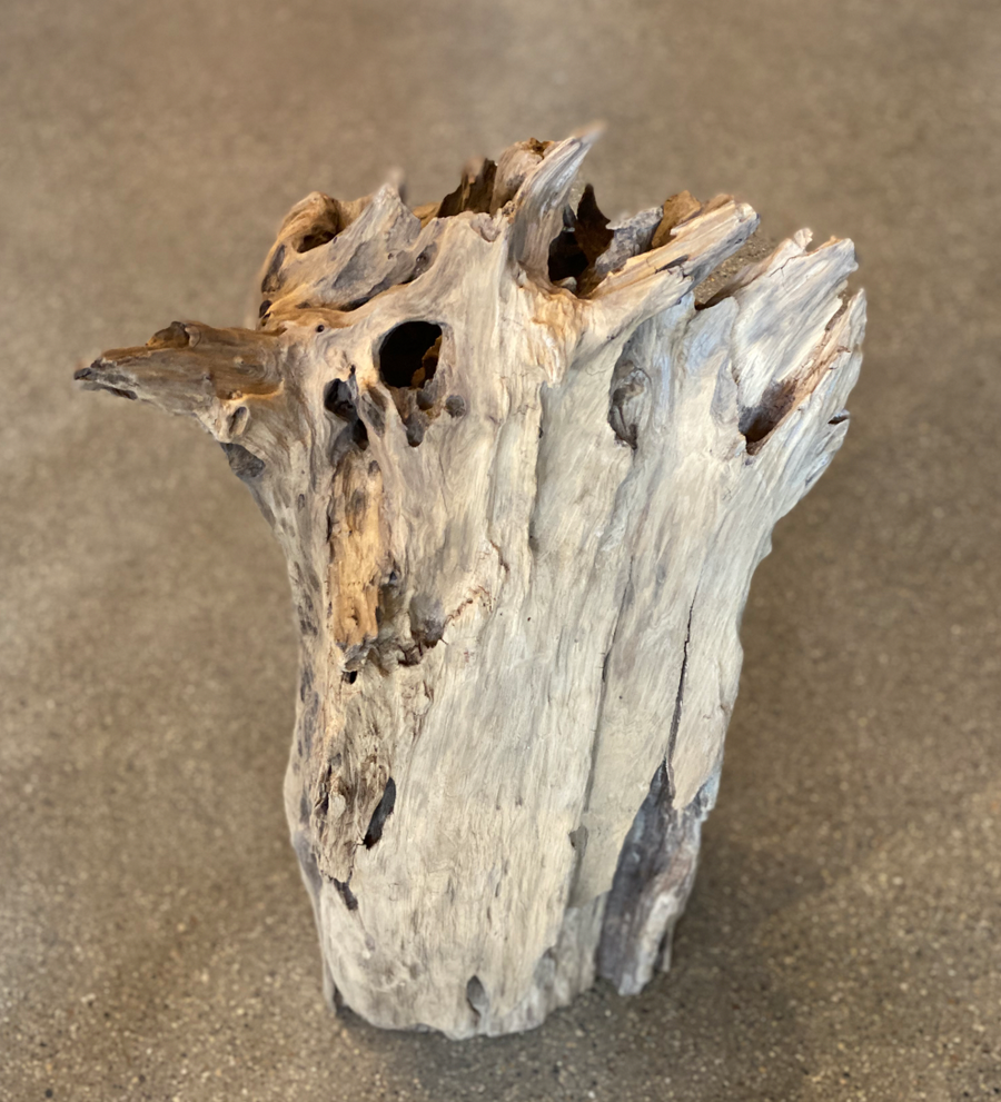 Tall Vertical Driftwood Centerpiece