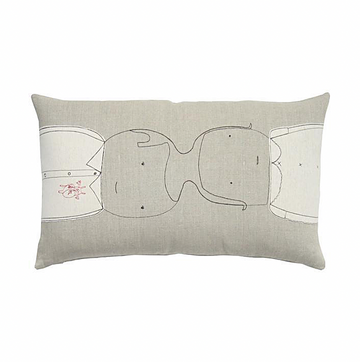 "Conjoined Pillow - 14""x24"""