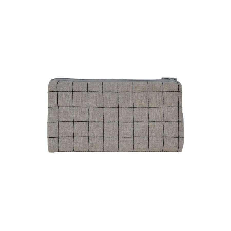 K Studio small windowpane pouch