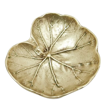 Brass Geranium Dish by Virginia Metal Crafters