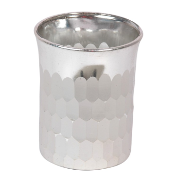 Glass Honeycomb Votive