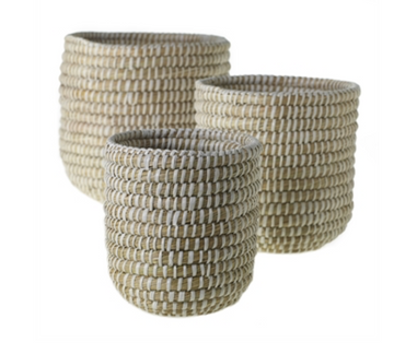 NATURAL RIVER GRASS BASKET / PLANTER