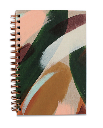Painted Cedar Notebook