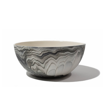 SMOKE MARBLED BOWL
