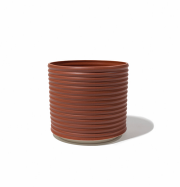 OBLIQUE PLANTER / Brick