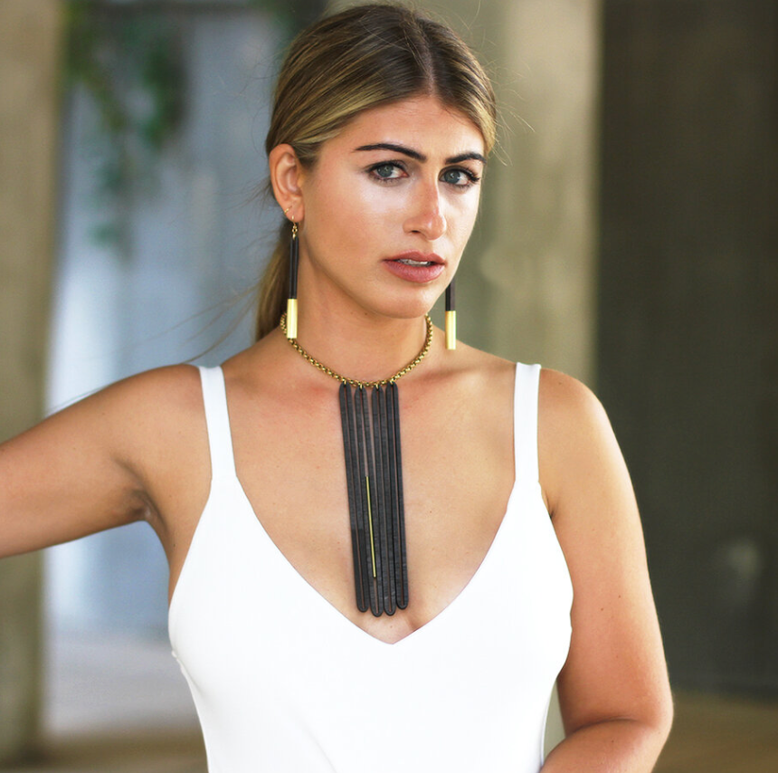 CROSSLYNE - Flounce Statement Necklace