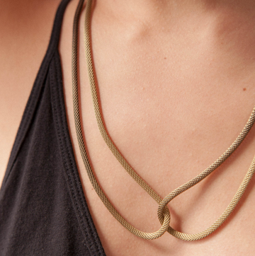 COIL NECKLACE / YMSF
