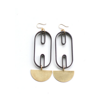 CROSSLYNE - Eych Drop Earrings