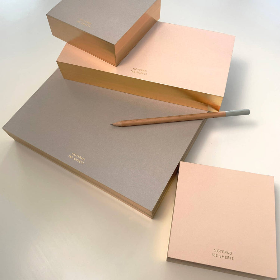 BLUSH ColorPad with Gilded edge - MEDIUM LONG