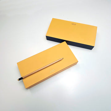 Yellow ColorPad with Gilded edge - MEDIUM LONG