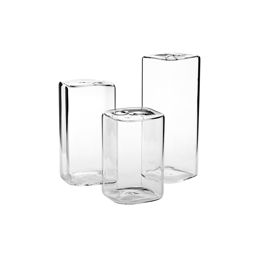 GLASS BUDVASE