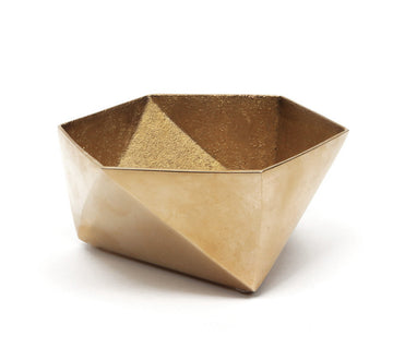 Origami Brass Bowl - Small