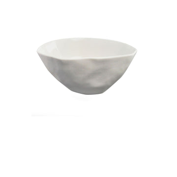 Stoneware Bowl, Small, White