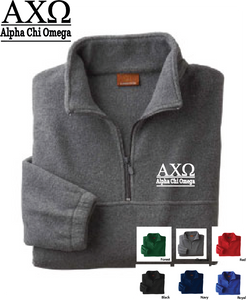 AChiO Quarter Zip Fleece Jacket