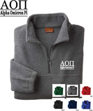 AOPi Quarter Zip Fleece Jacket