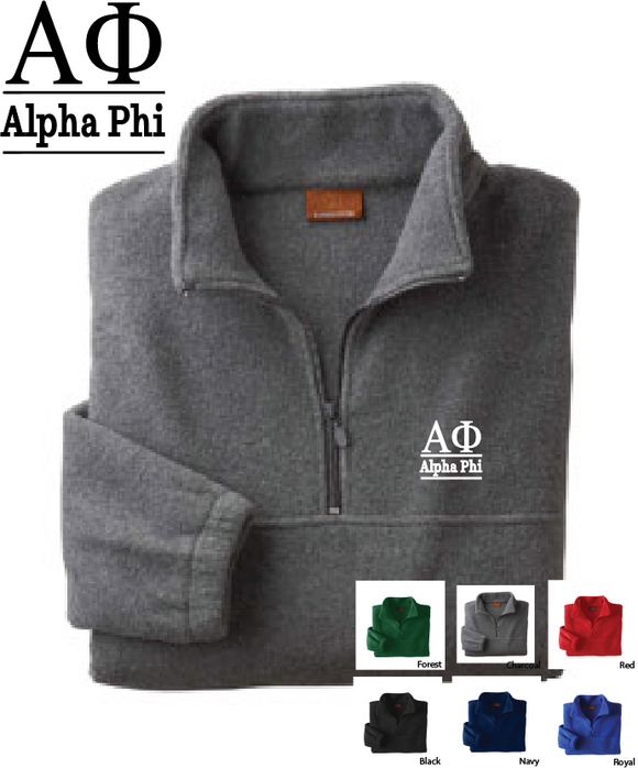 APhi Quarter Zip Fleece Jacket