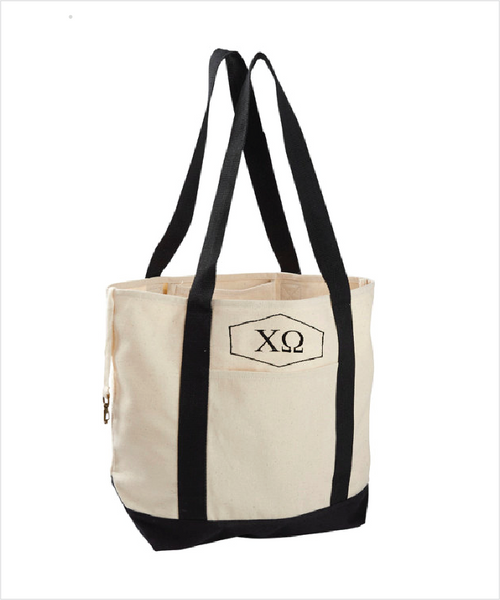 ChiO Canvas Tote Bag