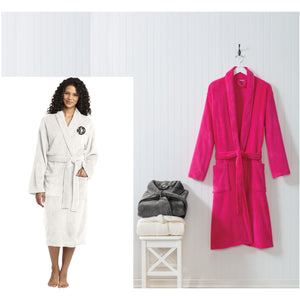PERSONALIZED TERRY CLOTH BATH ROBE