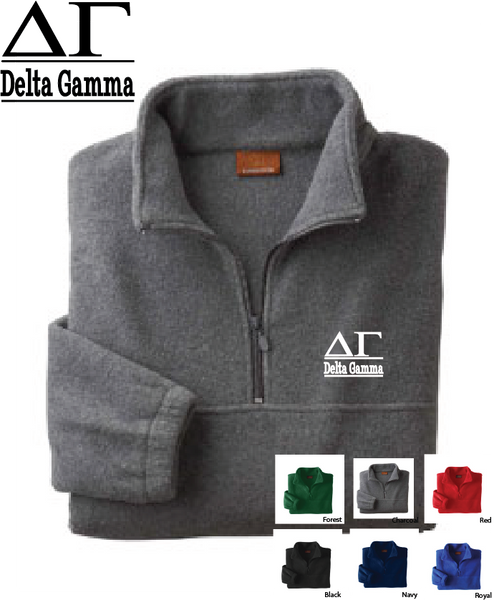 DG Quarter Zip Fleece Jacket