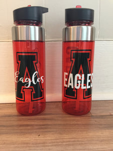 Personalized Argyle Waterbottle
