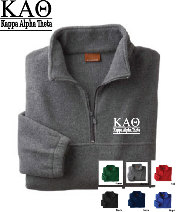 Theta Quarter Zip Fleece Jacket