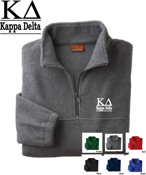 KD Quarter Zip Fleece Jacket