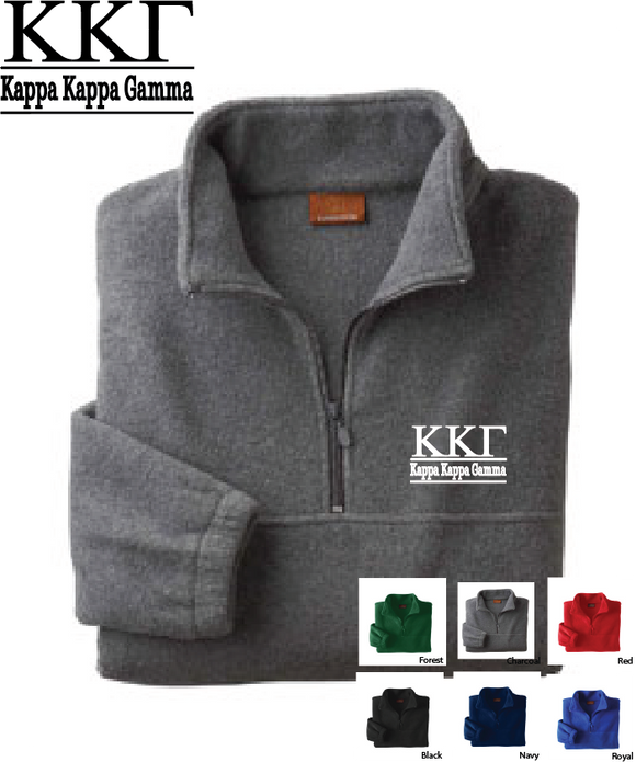 Kappa Quarter Zip Fleece Jacket