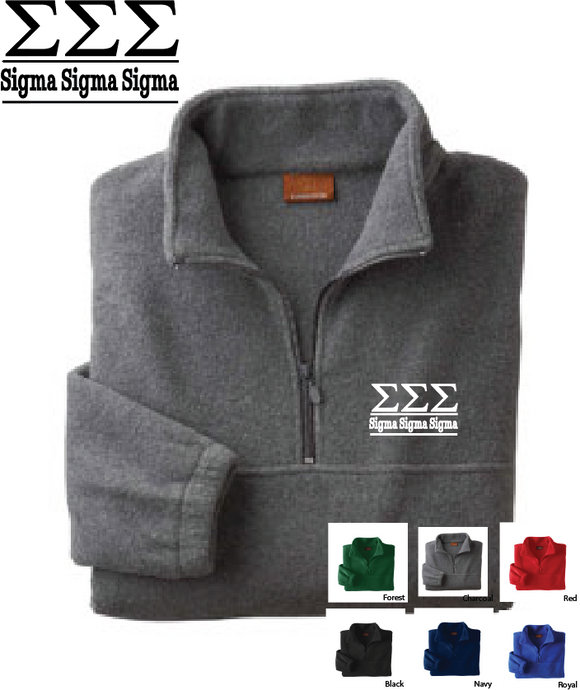 TriSig Quarter Zip Fleece Jacket