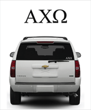 AChiO Symbol Decal