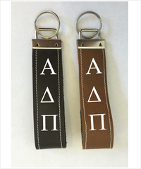 ADPi Leather Keyfob