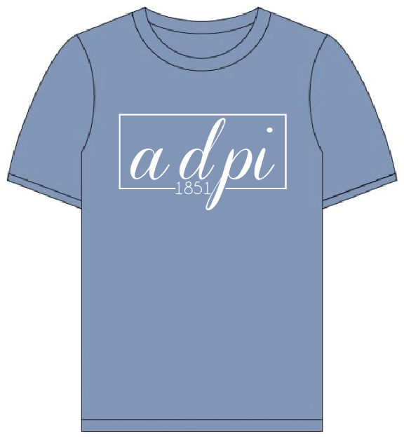 Alpha delta Pi // Comfort Color Short sleeve (Coneria) T-shirt