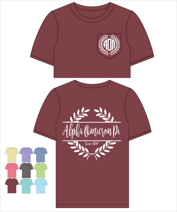 AOPi Comfort Color Frocket(Nobilis)