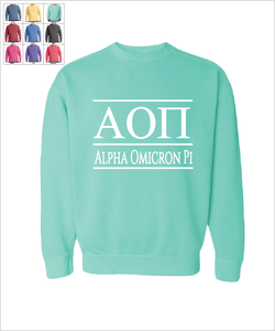 "AOPi ""The Greek"" Sweatshirt"
