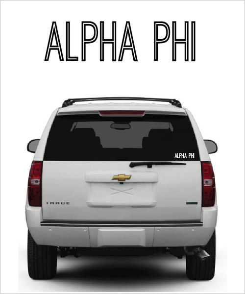 "APhi ""Ostrich"" decal"