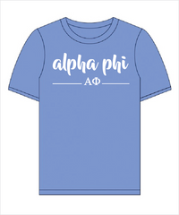 "APhi The ""Greek"" Shirt"