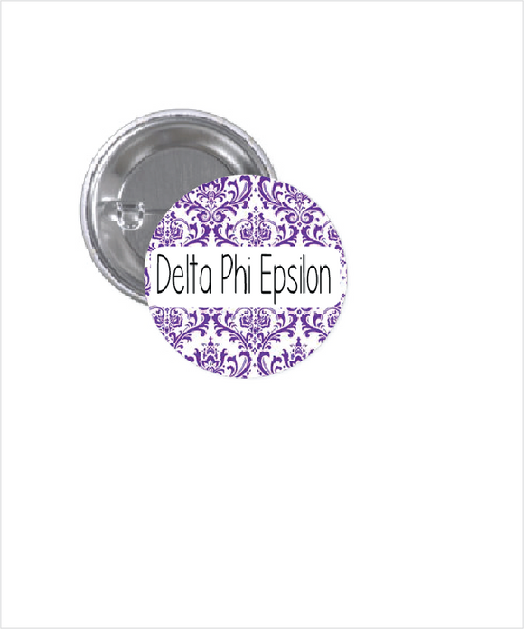 DELTA PHI EPSILON BUTTON