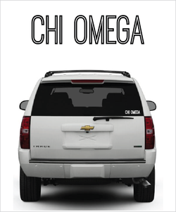 "ChiO ""Ostrich"" decal"