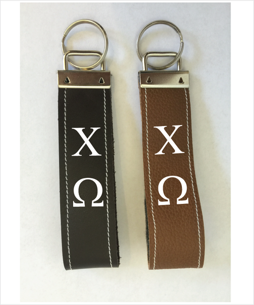 ChiO Leather Keyfob