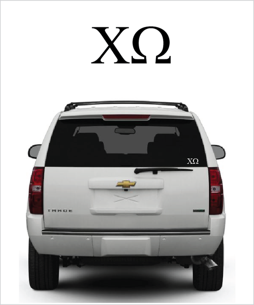 ChiO Symbol Decal
