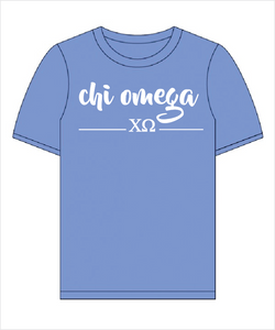 "ChiO The ""Greek"" Shirt"