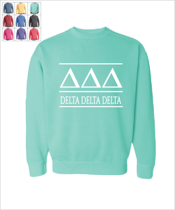 "TriDelt ""The Greek"" Sweatshirt"