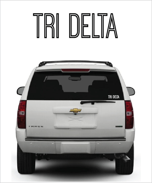"TriDelt ""Ostrich"" decal"