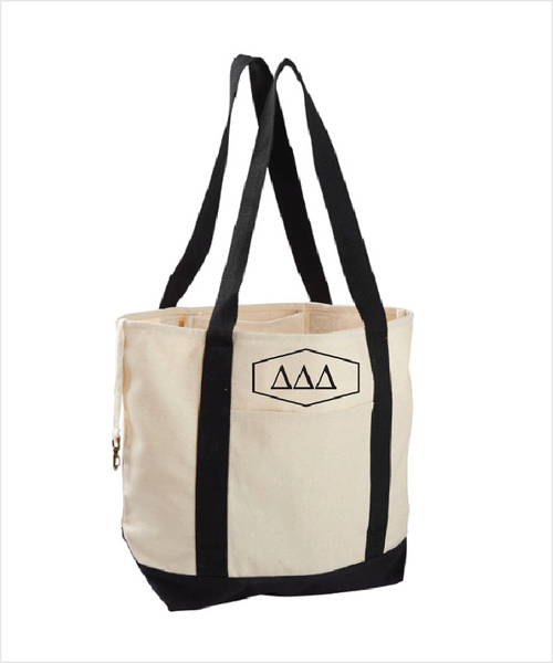 TriDelt Canvas Tote Bag
